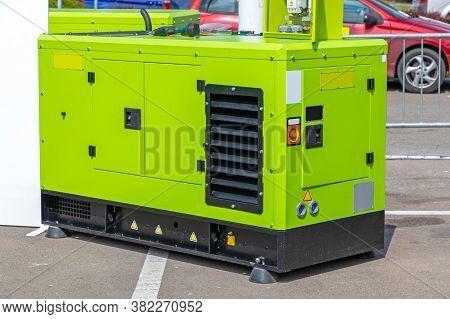 Auxiliary Electric Power Diesel Generator Emergency Equipment