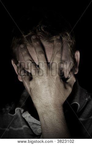 Depressed Male