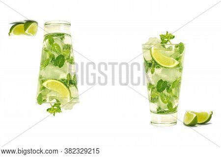Mojito Drink Cold Refreshing Summer Lemonade Mojito