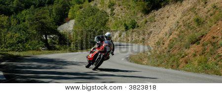 Motorcycle Col De Rousset