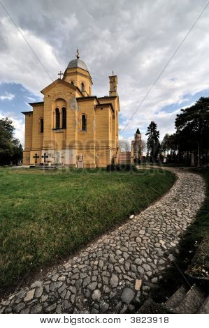Orthodox Church Of St. Dimitrije In Belgrade, Serbia (2)