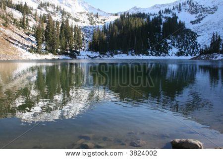 Red Pine Lake In Utah
