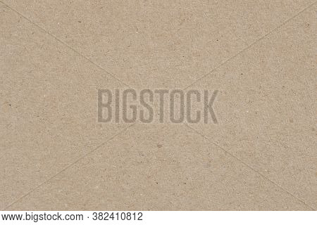 Texture Of Old Organic Cardboard, Beige Paper, Background For Design, Copy Space. Recyclable Materia