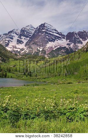 Colorado Maroon Bells Peaks