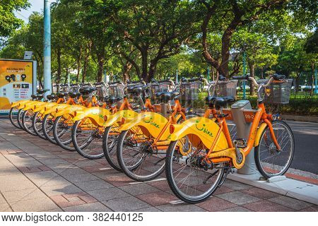 March 26, 2020: Taipei Bike Sharing System, Youbike, Is A Public Bicycle Sharing Service Offered By