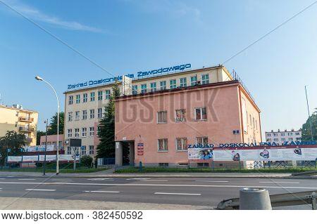 Rzeszow, Poland - June 13, 2020: Vocational Training Center (polish: Zaklad Doskonalenia Zawodowego)