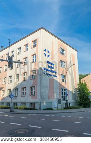 Rzeszow, Poland - June 13, 2020: Provincial Clinical Hospital No. 1 Named After Fryderyk Chopin.