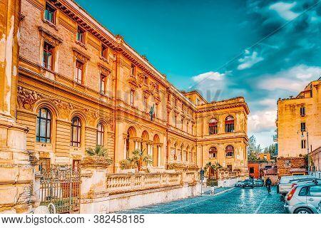 University Of Rome La Sapienza - Department Of Mechanical And Aerospace Engineering. Rome, Italy.