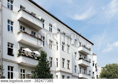 Typical Buildings In Kreuzberg Quarter Of Berlin