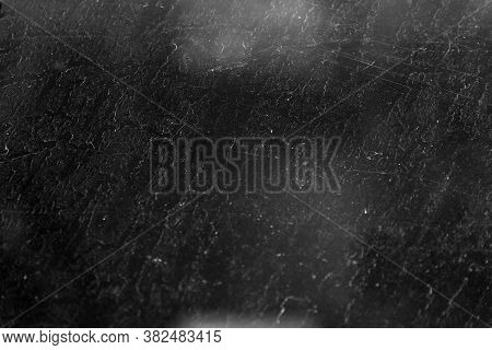 Highly Textured Backlighting. Light And Shadow Blurred Grunge Background, With Traces Of Water Drops