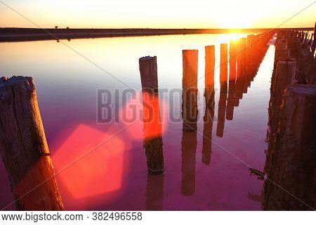 Pink Salt Lake