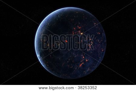 Extraterrestrial planet