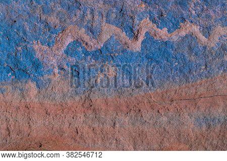 Petroglyphs, Talampaya National Park, Argentina
