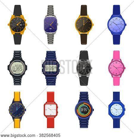Wrist Watches. Classic Female Male Watches, Digital Smartwatch, Fashion Unisex Chronograph, Modern M