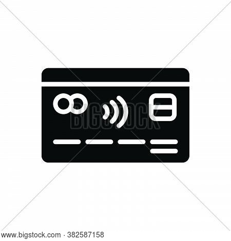 Black Solid Icon For Credit-card Credit Card Consumer Economy Atm Debit Finance Payment