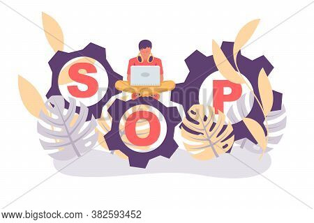 Landing Page Sop. Concept Standard Operating Procedure. Step-by-step Work Instruction. Organization