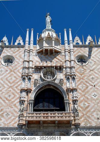 Doge Palace On St Mark's Square, Venice, Italy