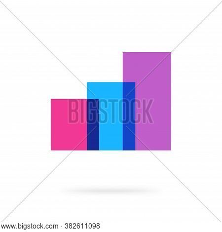 Abstract Audit Analysis Financial Sales Graph Agency Logo Vector, Increase Growth Chart Elements, Th