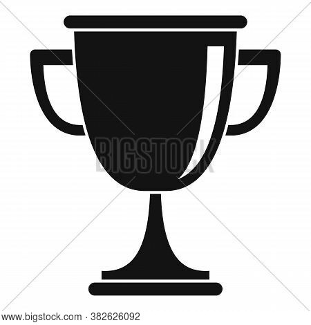 Mission Gold Cup Icon. Simple Illustration Of Mission Gold Cup Vector Icon For Web Design Isolated O