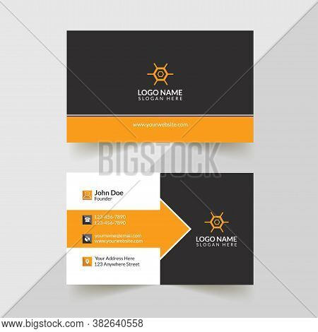 Corporate Business Card, Creative Business Card Design, Modern Business Card, Professional Business
