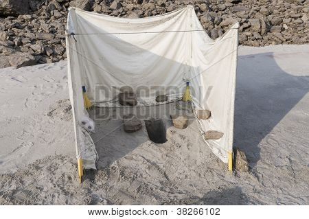 Toilet In The Sand