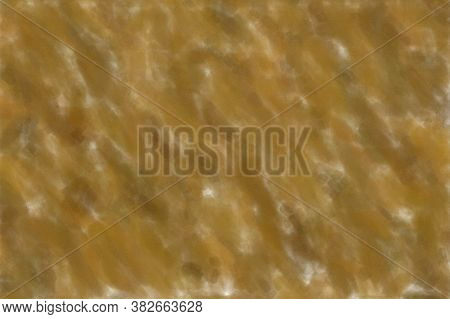 Brown Waves Watercolor With Low Coverage Abstract Paint Background.