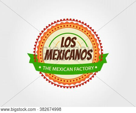 Mexican Food Logo. Badges, Labels, Logotype For Mexican Food.