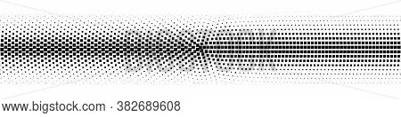 Gradient Halftone. Vintage Halftone Background. Abstract Pattern.  Illustration.