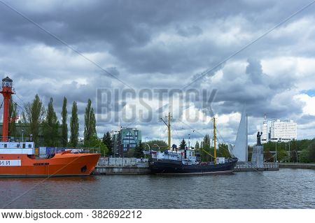 Museum Flotilla, Museum Of The World Ocean In Kaliningrad, Ships Museum Exhibits, Kaliningrad, Russi