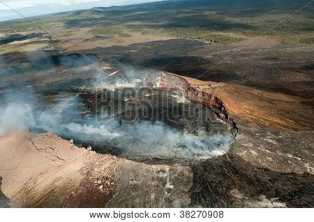 Volcano on the big island of Hawaii