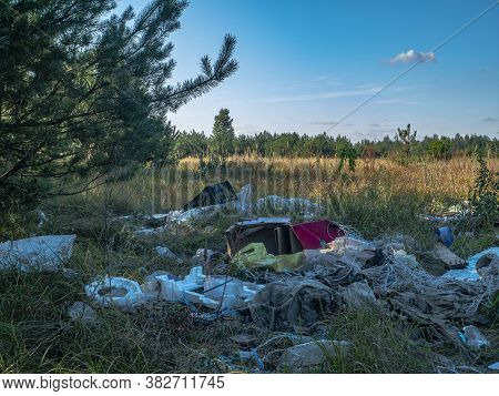 Unauthorized Dumping Of Household Waste In Nature.