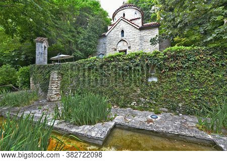 Palace In Balchik, Located On The Bulgarian Black Sea Coast In South Dobrudja. The Official Name Is