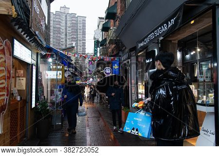 Shanghai. February 2019. Tianzifang Is A Small Enclave Within The Former French Concession Of Shangh