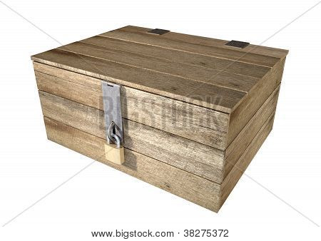 Locked Wooden Chest