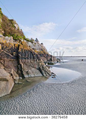 Mont Saint Michel Low Tide
