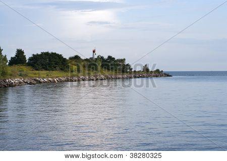 illustration of island
