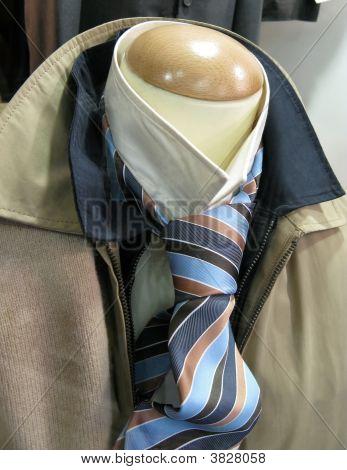 Male Clothes On Shop Mannequin
