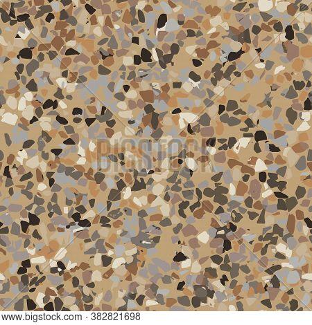 Terrazzo   Seamless Pattern, Stone Flooring, Texture Background