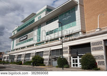 The Westquay Shopping Centre And John Lewis Department Store In Southampton In The Uk, Taken On The