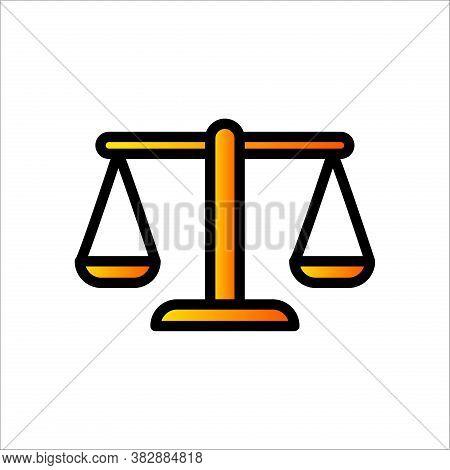 Scale Icon. Justice Scale Icon Vector. Law Office Logo. Justice Scale Icon Eps. Scale Template. Just