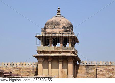 Gwalior, Madhya Pradesh/india : March 15, 2020 - Dome Of 'gujari Mahal' In Gwalior Fort