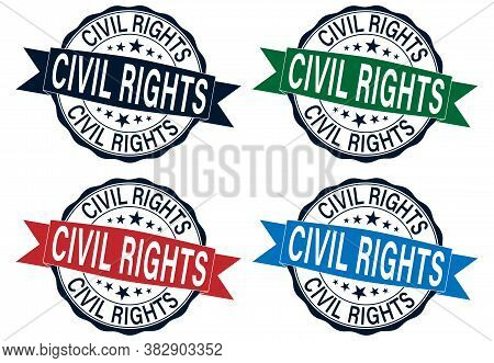 Civil Rights Black Lives Matter Stamp Set