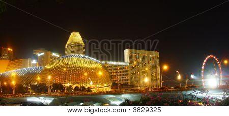 Evening Over City