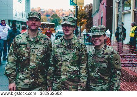 Ninth Lois Stobbs Memorial Veterans Day 10K.