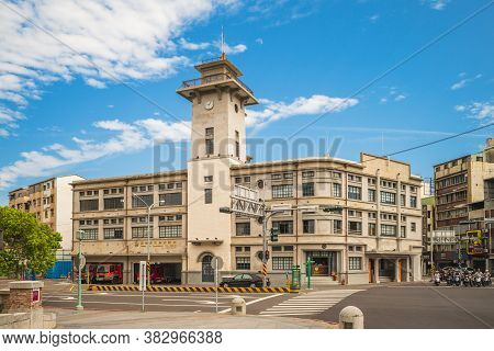 June 5, 2019: Tainan City Fire Bureau Second Division Is A Fire Station In Tainan, Taiwan Originally