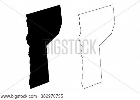 St. James (barbados, Parishes Of Barbados) Map Vector Illustration, Scribble Sketch Parish Of Saint