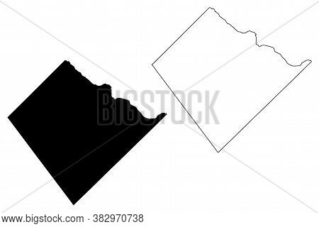 St. John (barbados, Parishes Of Barbados) Map Vector Illustration, Scribble Sketch Parish Of Saint J