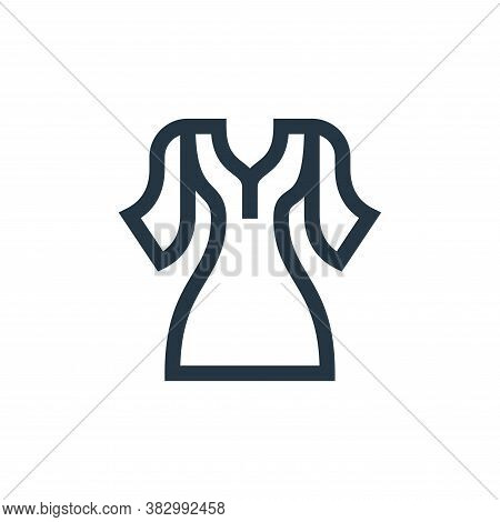 dress icon isolated on white background from morocco collection. dress icon trendy and modern dress