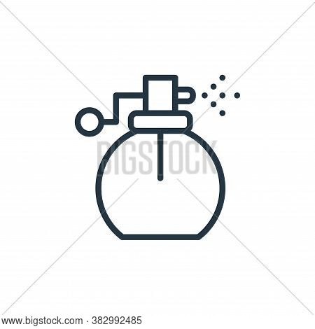 spray bottle icon isolated on white background from bathroom accessories collection. spray bottle ic