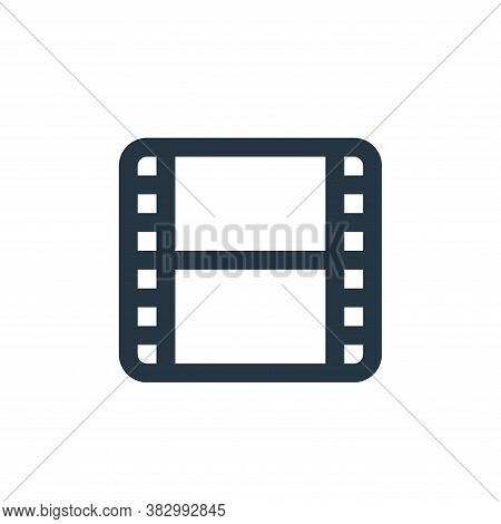 films icon isolated on white background from ecommerce ui collection. films icon trendy and modern f